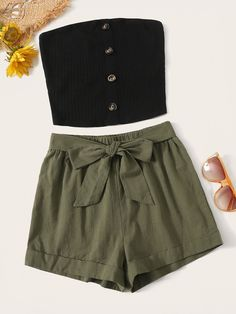 Summer Outfits For Teens, Cute Teen Outfits, Teenage Girl Outfits, Cute Comfy Outfits, Girls Fashion Clothes, Teenager Outfits, Teen Fashion Outfits, Simple Outfits, Pretty Outfits