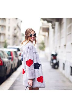 Chiara Ferragni the blonde Salad street style Fashion Dope Fashion, Fur Fashion, I Love Fashion, Fashion Trends, Milan Fashion, The Blonde Salad, Street Style, Street Chic, La Mode Masculine