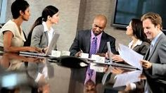 Image result for board room office three people