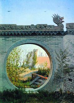 A Garden gate in Chuguchak - Vasily Vereshchagin