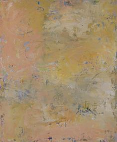 www.JenniferWeber.ca; 'VINTAGE'; oil painting; ART; vintage, abstract, soft colours, yellow ochre, pink, white