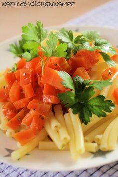 Thymian - Karotten mit Pasta