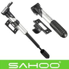 SAHOO Mini Inflador de Neumáticos Portátil Compacto Para Bicicleta Ciclismo Bomba de Aire de la Mano Antideslizante Herramienta de Reparación de Bicicletas