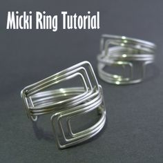 Tutorial - Micki Ring (Easy) [bracelet idea - pic only]
