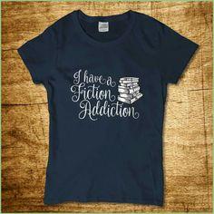 Fiction Addiction T Shirt