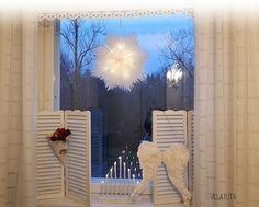 tähtikukka Bathroom Lighting, Mirror, Christmas, Diy, Home Decor, Xmas, Bathroom Light Fittings, Bathroom Vanity Lighting, Decoration Home