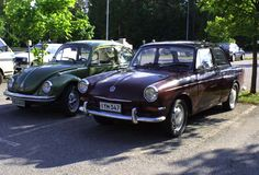 My VW's (type 3 notch -63 and type 1 1303s Big -74)