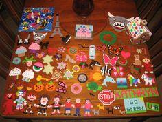 Perler beads crafts by Kady B.