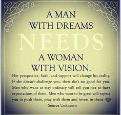 What a man needs