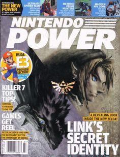 RIP Nintendo Power magazine - June 2005 - The Legend of Zelda: Twilight Princess Link's secret identity