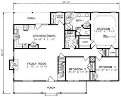 Traditional House Plan #341030 | Ultimate Home Plans