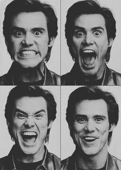 Jim Carrey. Also one of my favorite actors! The king of enthusiasm!