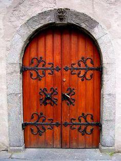 Korskirken door, Bergen, Norway       Erik Ericksen was baptised here 23 Jan 1825