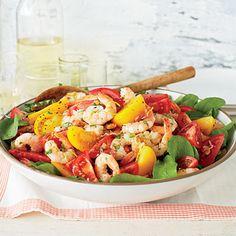 Tomato-and-Shrimp Salad - 27 Coastal Shrimp Recipes - Coastal Living