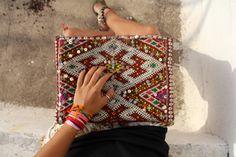 #kilim #clutch #morocco #boho #ethnic