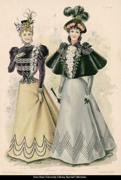 1897. Walking dresses.
