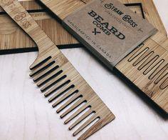 Bootlegger Beard Comb - KENNETH – Straw Boss Comb Collective