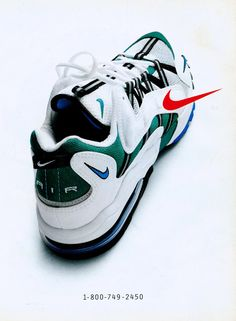 Retro Sports Ad #55, Nike Air, Sports Illustrated March 17, 1997.