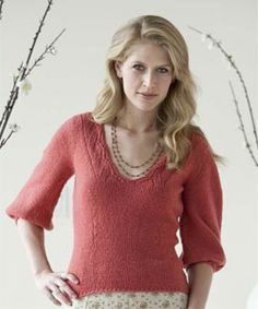 Knit Sweater Patterns: The Vienne Sweater