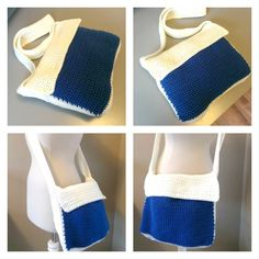 Free Crochet Pattern Messenger Bag Collage - thesteadyhandblog