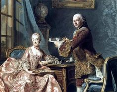 The architect Perronet and his wife painted by Alexander Roslin.