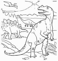 Kleurplaten Dinosaurus Rex.13 Beste Afbeeldingen Van Kleurplaten In 2019 Animaux Coloring