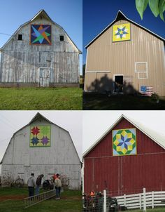 My mom wants me to make a barn quilt for her this summer, so I am searching for ideas/patterns.
