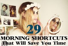 29 Morning Shortcuts That Will Save You Time