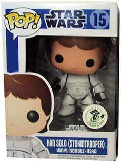 Han Solo as Stormtrooper pop figure Funko Toys, Star Wars Celebration, Funko Pop Star Wars, Pop Collection, Han Solo, Pop Vinyl Figures, Funko Pop Vinyl, Bobble Head, Stars
