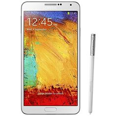 Samsung Galaxy Note 3 (SM-N900V) – 32GB Verizon + GSM Smartphone – White (Certified Refurbished)  The Samsung Galaxy Note 3 has evolved in its design – both inside and out. Immerse yourself in high-quality video and interactive gaming with the incredibly colorful 5.7″ full HD Super AMOLED display. With 3GB of RAM, up to 32GB memory, and a quad-core processor, with S Pen and Air Command, you won't be disappointed. SIM card not included – please get from your carrier (SIM card type is ..