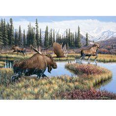 Cobble Hill Puzzle Company Moose Travels 1000 Piece Puzzle