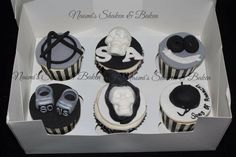 Sons of Anarchy cupcakes