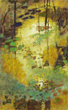 Golden Portal | oil on canvas rick steven