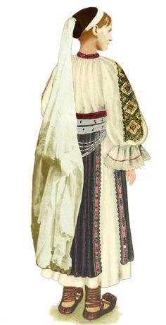 Meria Fata Spate Broboada Folklore, Duster Coat, Kimono Top, Europe, Costumes, Jackets, Tops, Women, Fashion