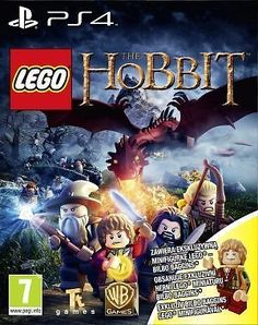 LEGO Hobbit + figurka Bilbo Bagginsa (PlayStation 4) - Warner Bros