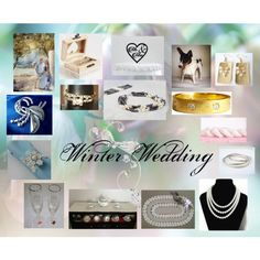 Winter Wedding: Unique Wedding Gifts by paulinemcewen on Polyvore featuring Lenox and vintage