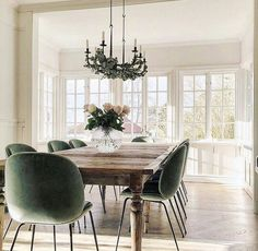 15 Best Dining Room Sets in 2019 farmhouse dining room dining room furniture sets cozy dining room dining room dimensions dining set rustic dining room sets painted dining room sets kitchen and dining room ideas dining room sets rustic Dining Room Sets, Luxury Dining Room, Dining Room Furniture, Furniture Sets, Esstisch Design, Dining Table Design, Chairs For Dining Table, Velvet Dining Chair, Modern Dining Room Chairs