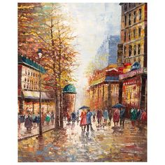 Found it at Joss & Main - French Street Scene Canvas Print