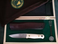 The Ray Mears bushcraft knife. SWC Version.