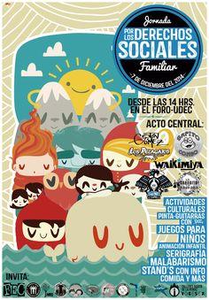 Jornada Familiar por los Derechos Sociales, inspirado en el trabajo de Ivan Bliznak