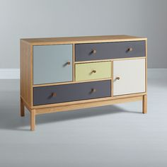 Buy Leonhard Pfeifer for John Lewis Abbeywood 2 Door, 3 Drawer Chest from our View All Design range at John Lewis & Partners. Plywood Furniture, Cool Furniture, Painted Furniture, Bedroom Furniture, Furniture Design, Coaster Furniture, Furniture Restoration, Home Office Design, Contemporary Furniture