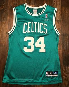 803be631a Throwback Paul Pierce Celtics Jersey - Vintage - The Truth - Boston Celtics  - Reebok - 34