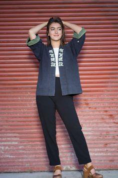 Japanese boro vintage jacket by EasternClassic on Etsy Boro, Vintage Jacket, Japanese, Trending Outfits, Jackets, Etsy, Shopping, Collection, Fashion