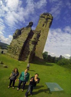 GoPro toss photography all over Europe. Wallace Monument, Stirling, Scotland Many more examples here: http://imgur.com/a/oSPRi via heinencm