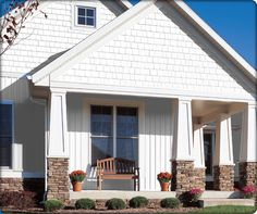 board and batten colors | Georgia-Pacific offers homeowners siding in both vinyl and plywood ...