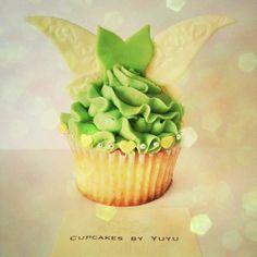 Tinkerbell Cupcake - WHITE CHOCOLATE FAIRY WINGS