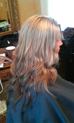 My reverse ombre by my awesome cousin :)