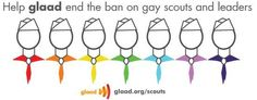 Help gladd end the ban on gay scouts