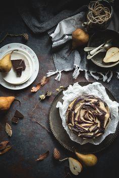 Torta cioccolato e pere - photo by Ilaria Guidi