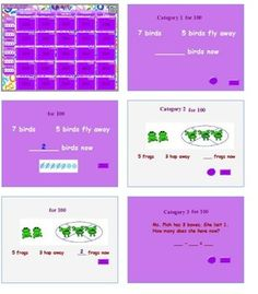 Go Math! Chapter 2 jeopardy review game - $2.00!!! 1st grade